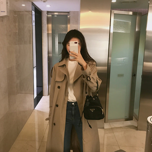kettle trench coat ; 3 color